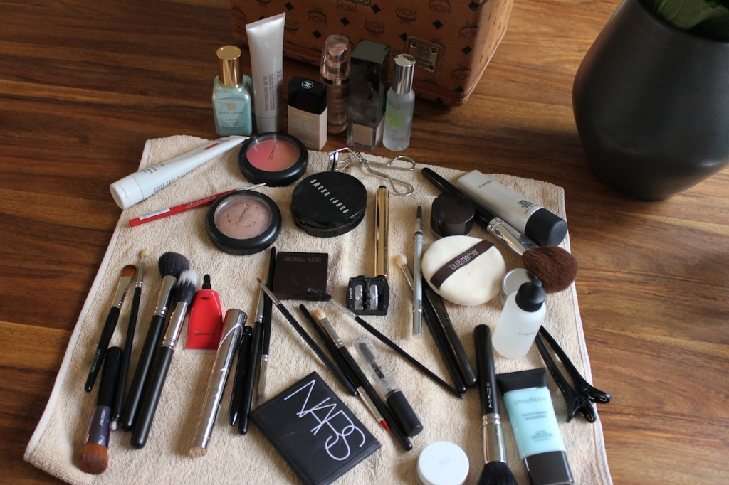 Beauty du jour: Mein Make-up beim H&M-Shooting