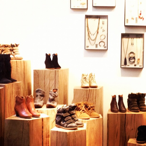 Neue Boutique von Isabel Marant in Paris (Foto via Into the Gloss)