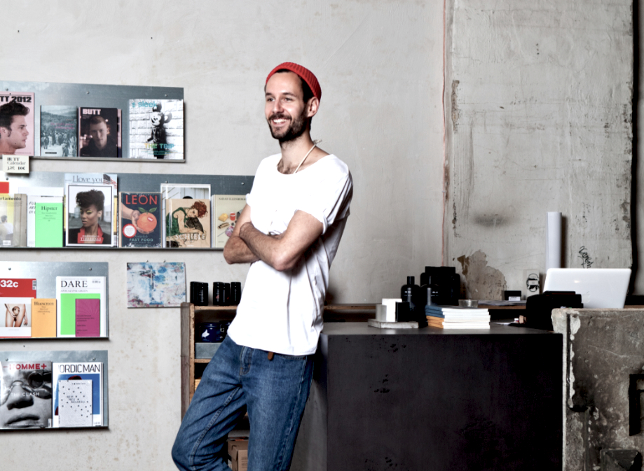 Herbert Hofmann im voo-Store. Bild: Sandra Semburg
