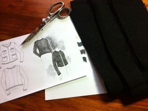 Making of: The Little Black Jacket by James Castle