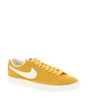 Nike Blazer in Gelb