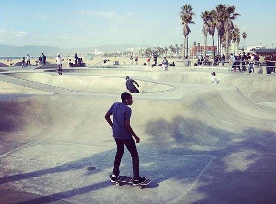 Skaterboys in L.A.