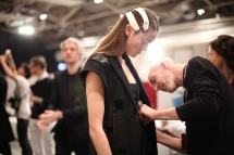 Backstage bei Hugo Boss