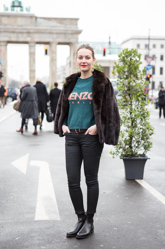 Die schönsten Streetstyles von der Berlin Fashion Week Januar 2013