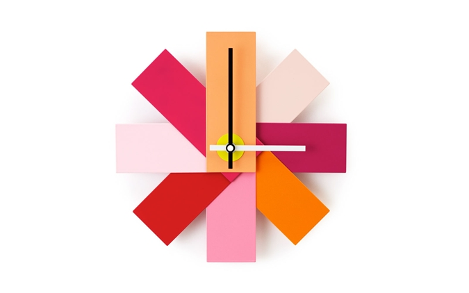 Watch_Me_Wall_Clock_Pink