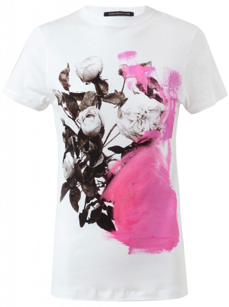 T-shirt von Christopher Kane