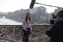 """Hinter den Kulissen von """"It's Fashion"""" in Paris:"""