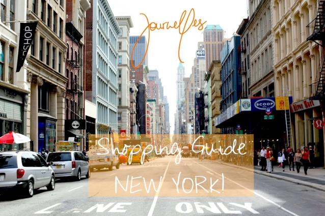 New York Shopping Guide Manhattan by Journelles: