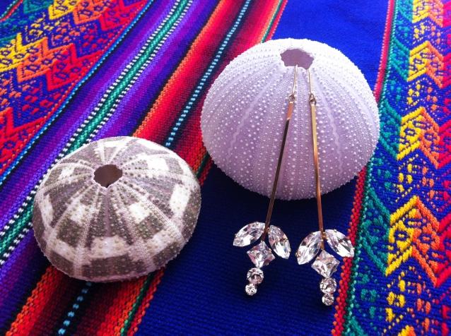 Ohrringe mit Swarovski Crystals von Sabrina Dehoff