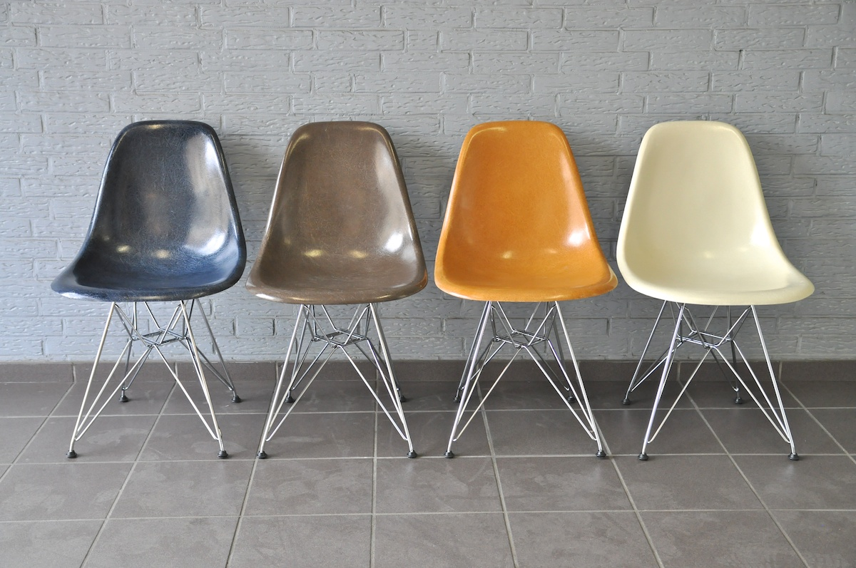 De Eames Stoel : Journelles maison: original vs. replika u2013 der eames plastic chair