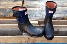 Trend du JOUR: Moto Boot Gummistiefel von Hunter + rag&bone