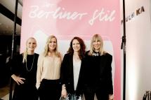 """Das """"Der Berliner Stil""""-Team bei der Booklaunch-Party im KaDeWe: Melanie Petersen, Alexa von Heyden, Sandra Semburg und Angelika Taschen"""