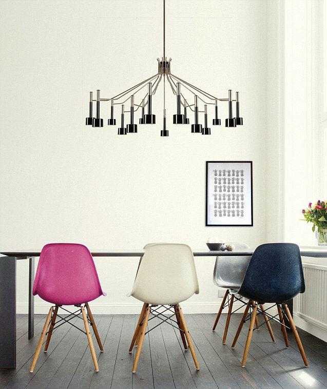 Journelles Eames Chairs Via Delightful Lighting