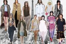 Valentino, Dries van Noten, Martin Margiela, Chloé, Giambattista Valli, Carven, Stella McCartney, Chanel, Alexander McQueen, Balmain, Céline