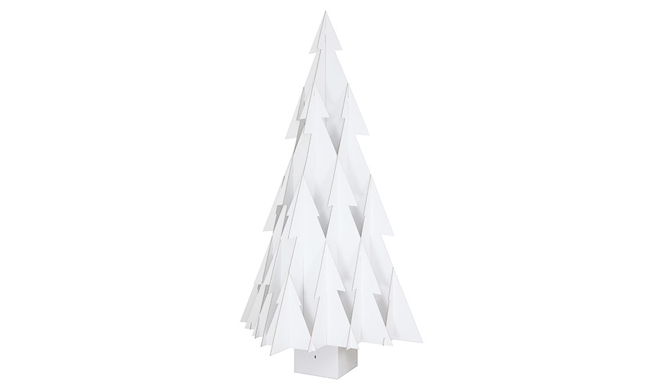 Trendjournal winter wonderland journelles - Weihnachtsbaum aus pappe ...