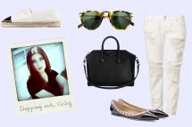 Shopping mit Vicky