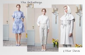 Vika Gazinskaya für & Other Stories