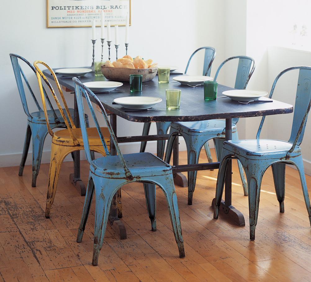 journelles designklassiker stuhl a von tolix journelles. Black Bedroom Furniture Sets. Home Design Ideas