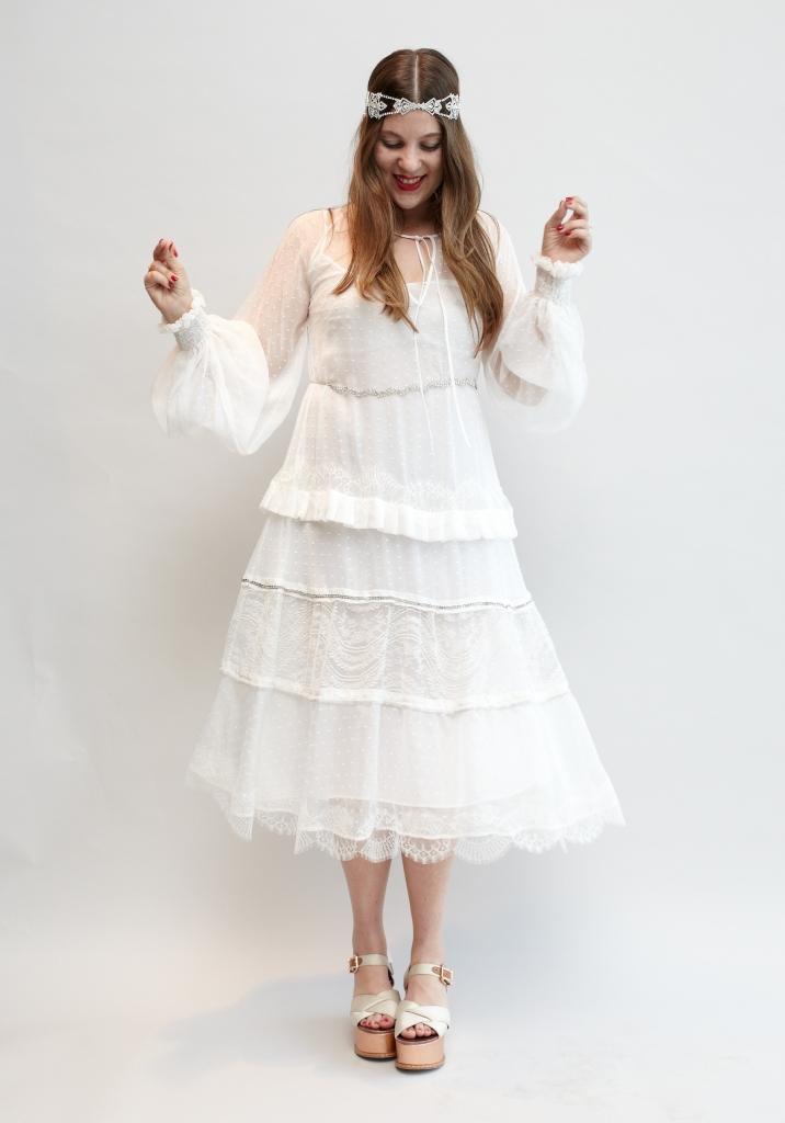 Hochzeitskolumne: Die Brautkleidanprobe bei net-a-porter in London ...