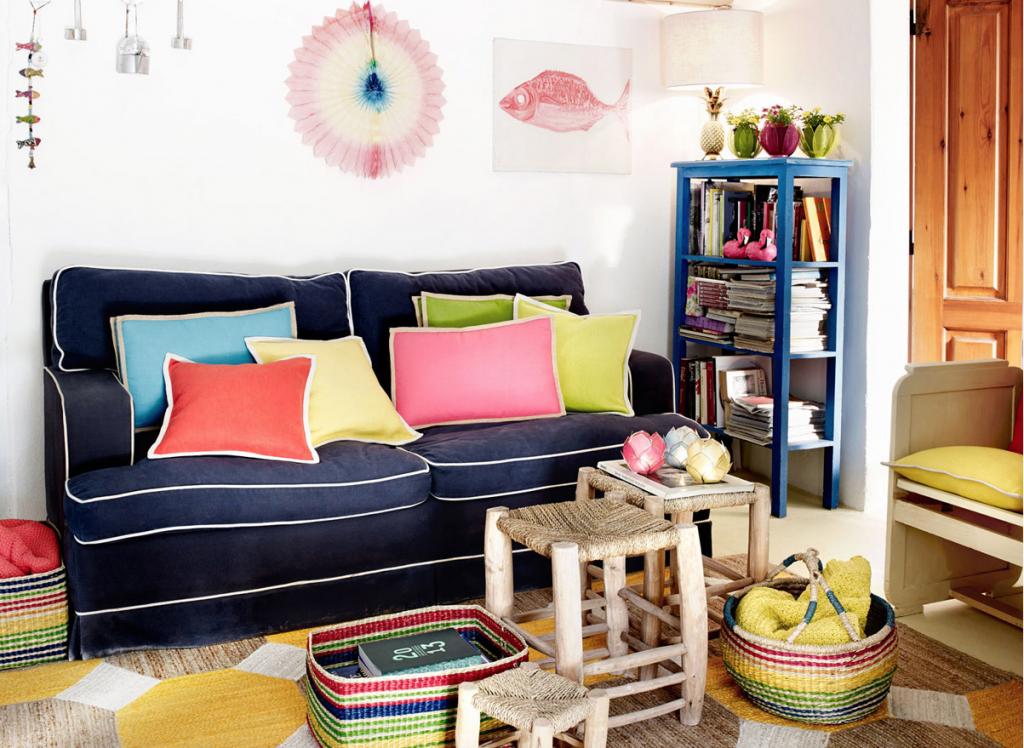 knallbunt in den sommer zara home exotic lookbook 2014 journelles. Black Bedroom Furniture Sets. Home Design Ideas