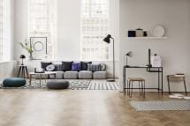 Wohnzimmer-Atmosphäre in Szene gesetzt von Heidi Lerkenfeldt