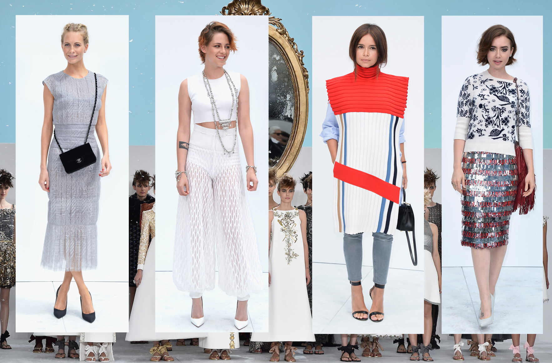 Die promis bei chanel haute couture herbst winter 2014 15 for Chanel haute couture 2015