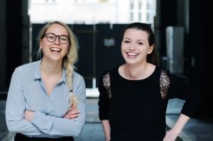 Susann und Nora von Edition F (Foto: Jennifer Fey)