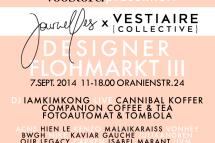 Journelles x Vestiaire Collective Designerflohmarkt am 7. September im Voo Store – die Infos
