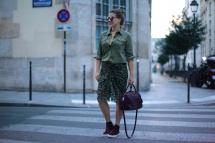 JOURlook: Khaki in Paris