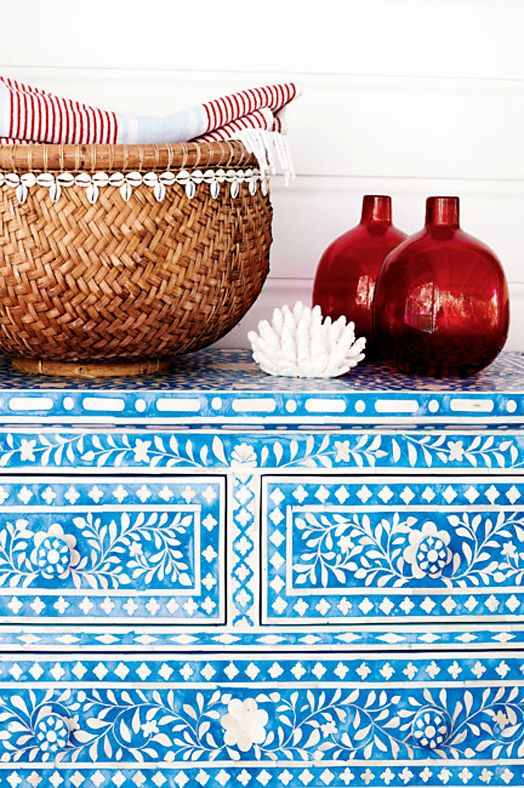 Inspiration Des Tages Indische Quot Bone Inlay Quot Kommoden
