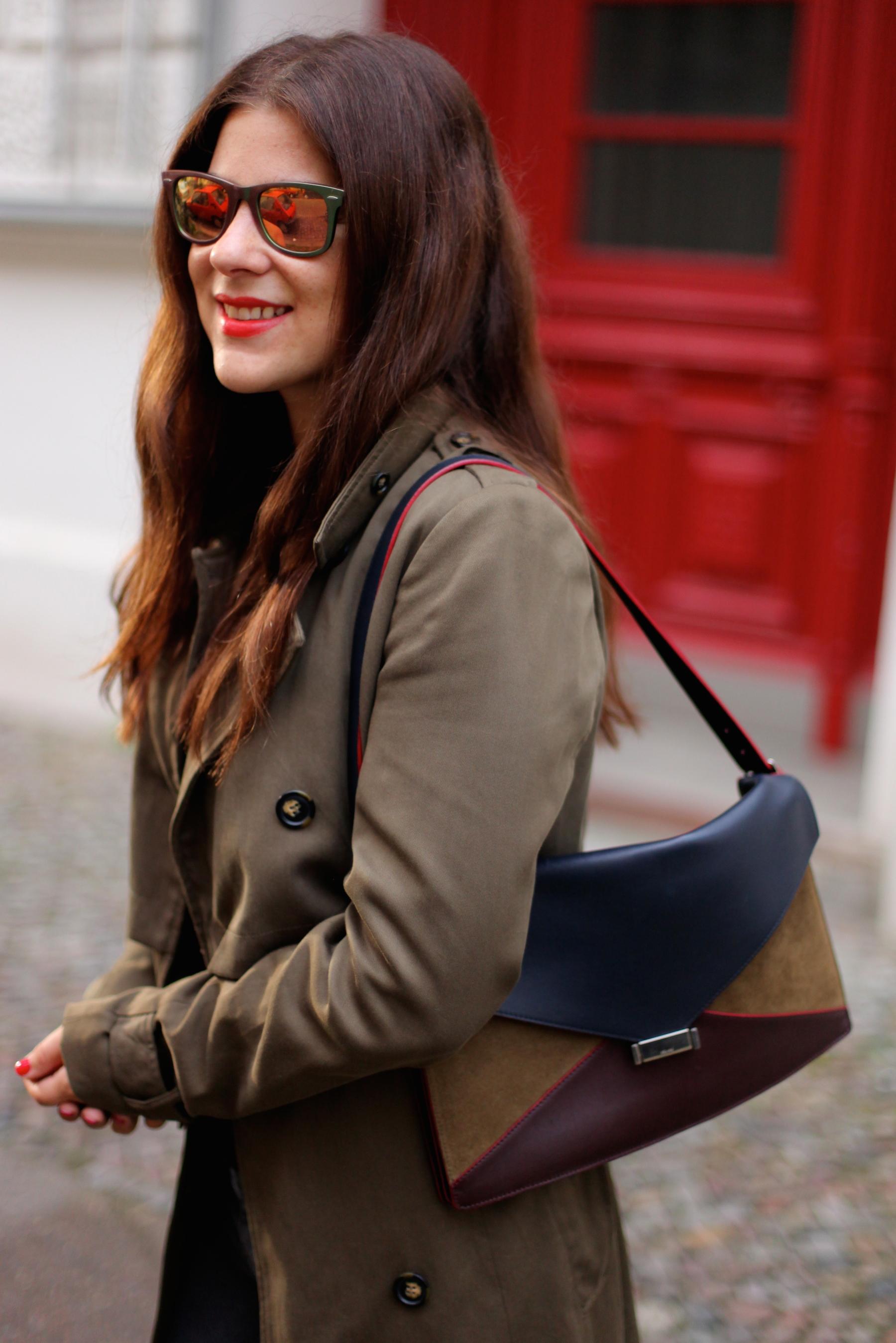 celine multicolour leather clutch bag diamond clutch