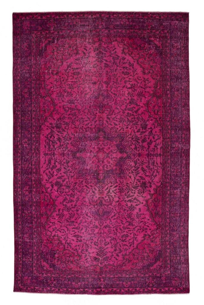 Journelles_Maison_Rough_Rugs_Vintage_Teppich_Pink