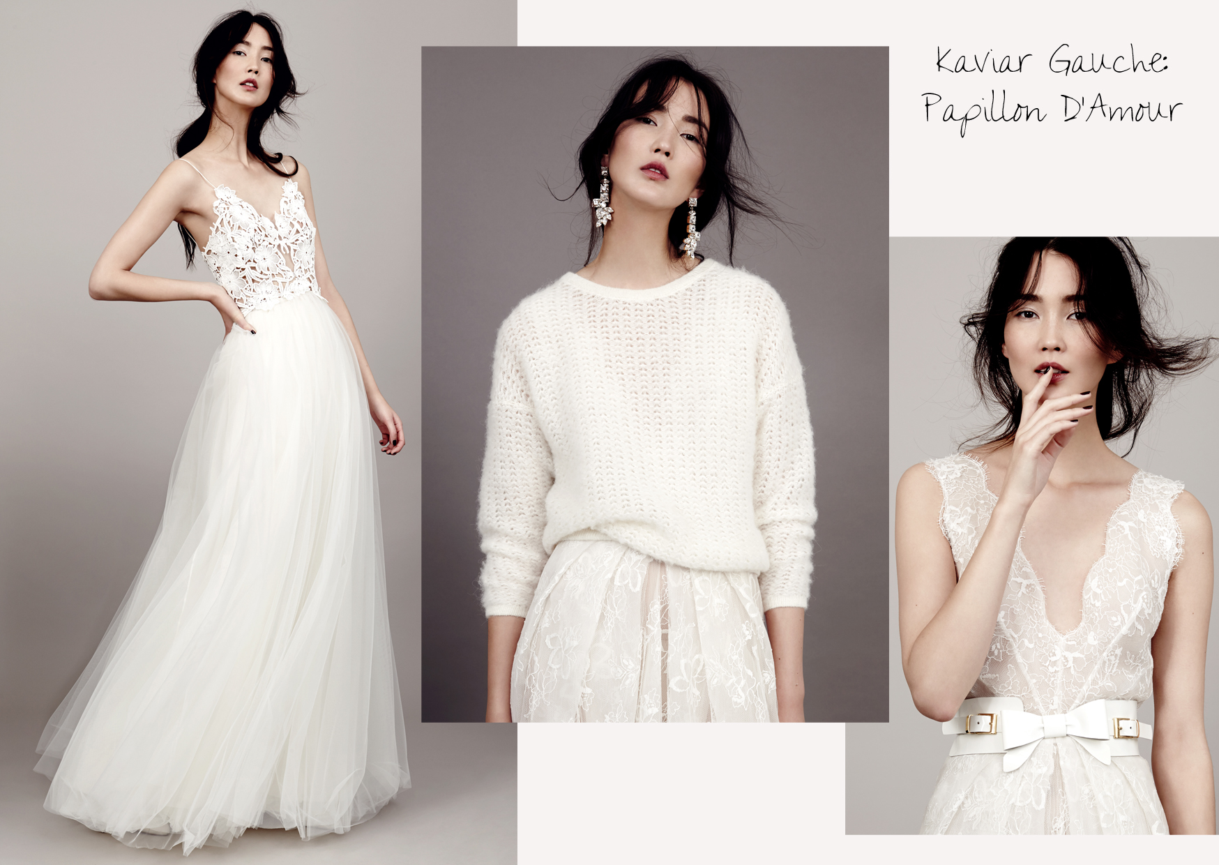 "Papillon DAmour"": Die Bridal Couture Kollektion 14 von Kaviar"