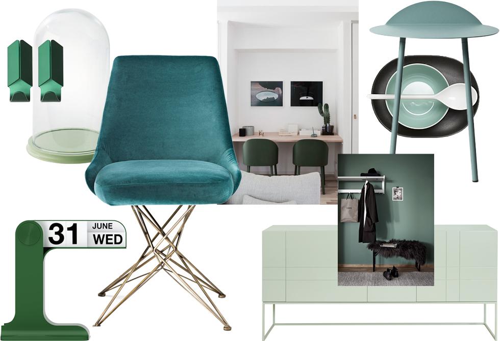 interior trendwatch gr nt ne journelles. Black Bedroom Furniture Sets. Home Design Ideas