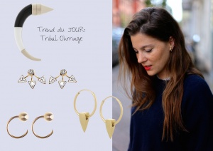 Trend du JOUR_Tribal Ohrringe