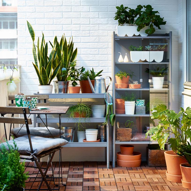 Balkon inspiration ikea journelles - Ikea terraza y jardin ...