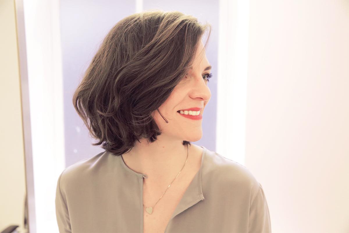 Stufenschnitt halblanges haar