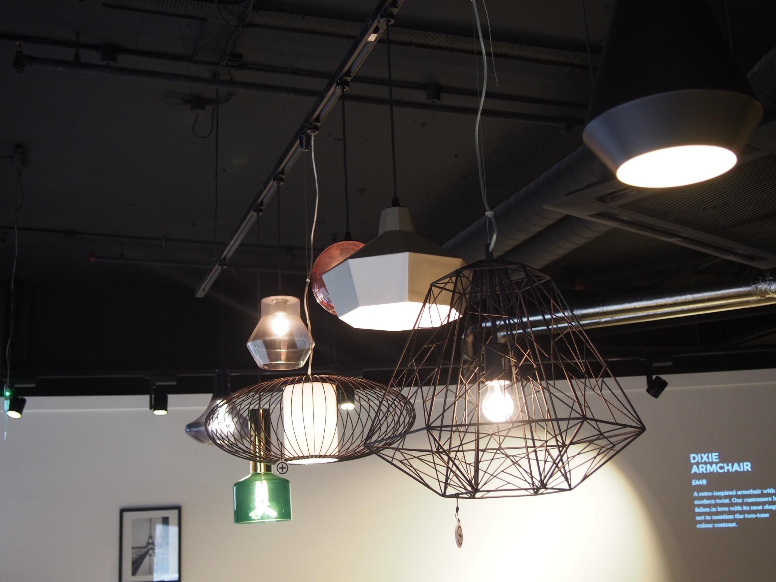 Lampen Draht Kupfer Made.com - Journelles