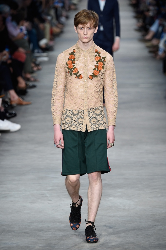 GUCCI - Runway - Milan Collections Men SS16