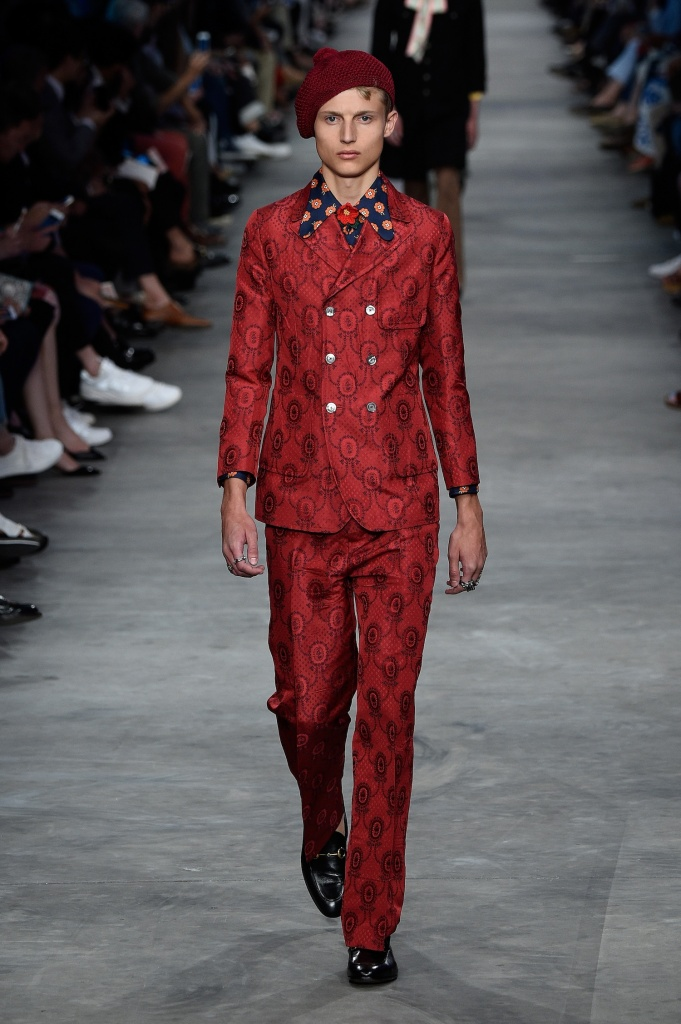 Gucci Menswear Spring 2016 Fashion Show Milan Trends