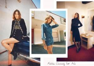 Alexa Chung for AG Fall Winter 2015 (Fotos: Stylebop.com)