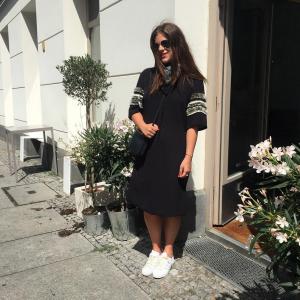 By Malene Birger Dress adidas sneaker bandana
