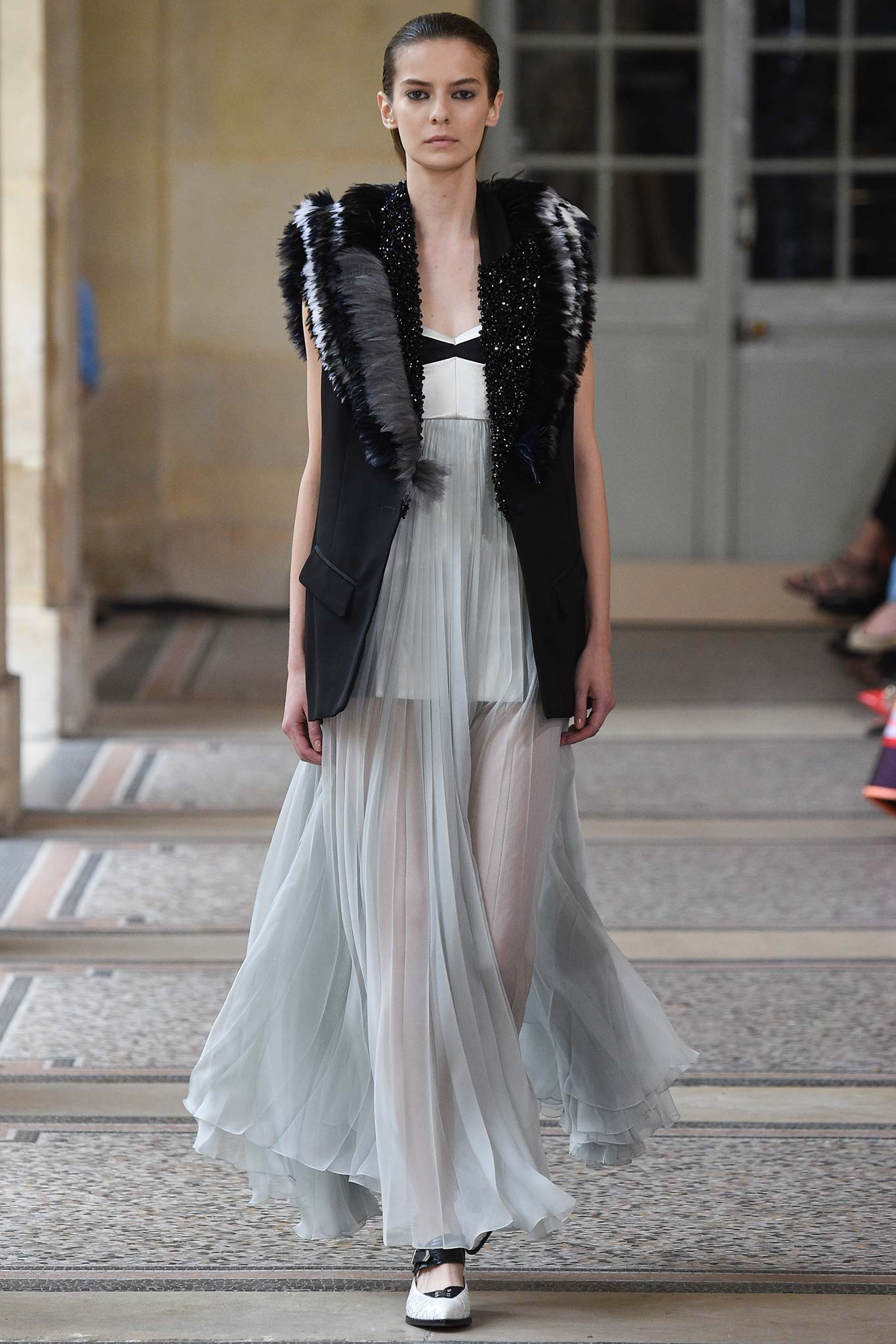 Bouchra Jarrar Haute Couture Herbst 2015 Kollektion Paris