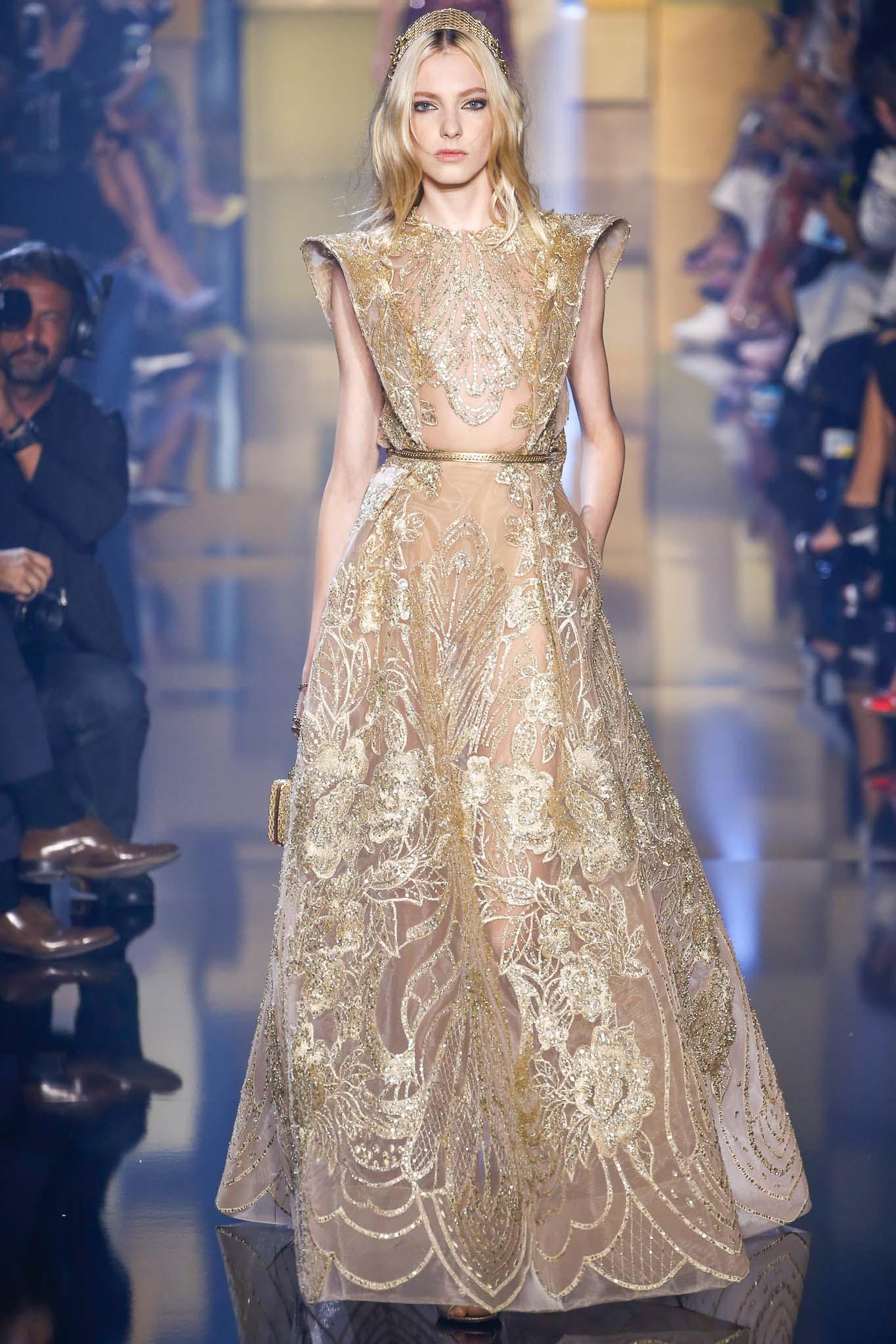 Elie Saab Haute Couture Herbst 2015 Kollektion Kleider