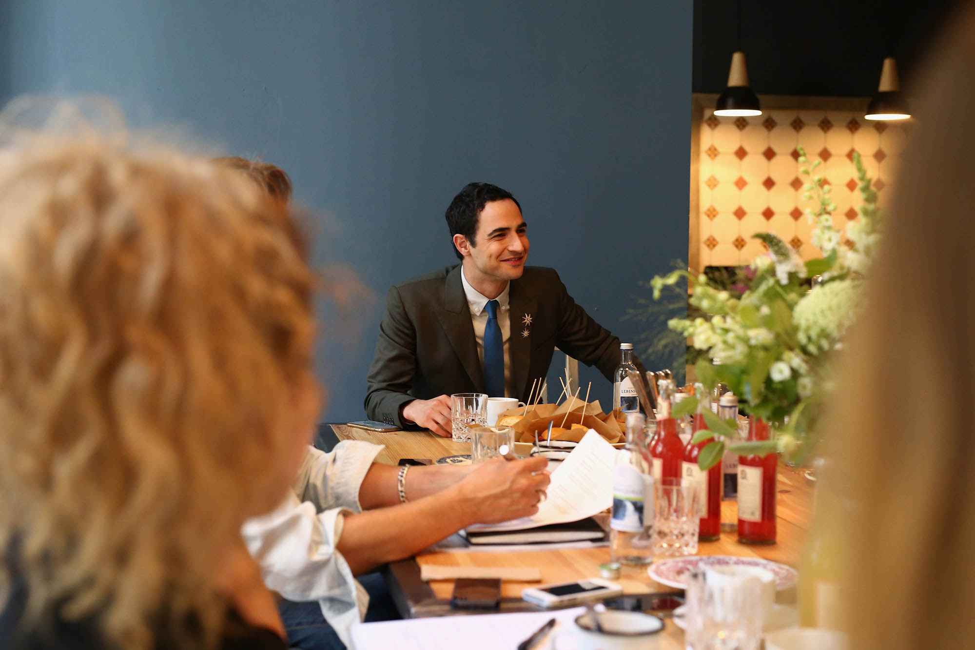 Interview mit Zac Posen über den Designer for tomorrow Award.