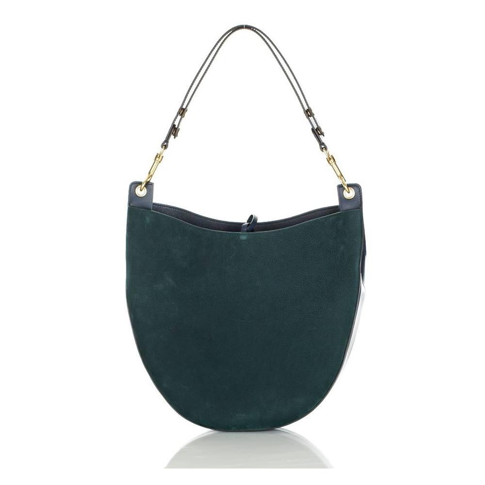 Céline Hobo Bag Bottlegreen