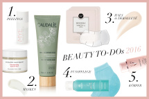 5 Beauty To Dos 2016 / Journelles