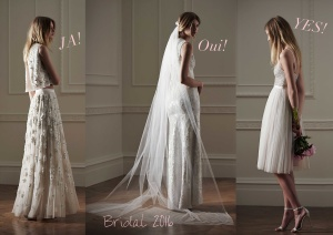Needle & Thread Bridal Collection 2016