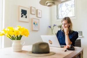 Katharina Bauckhage, Gründerin von Artflash (Fotos: Diana Feil)