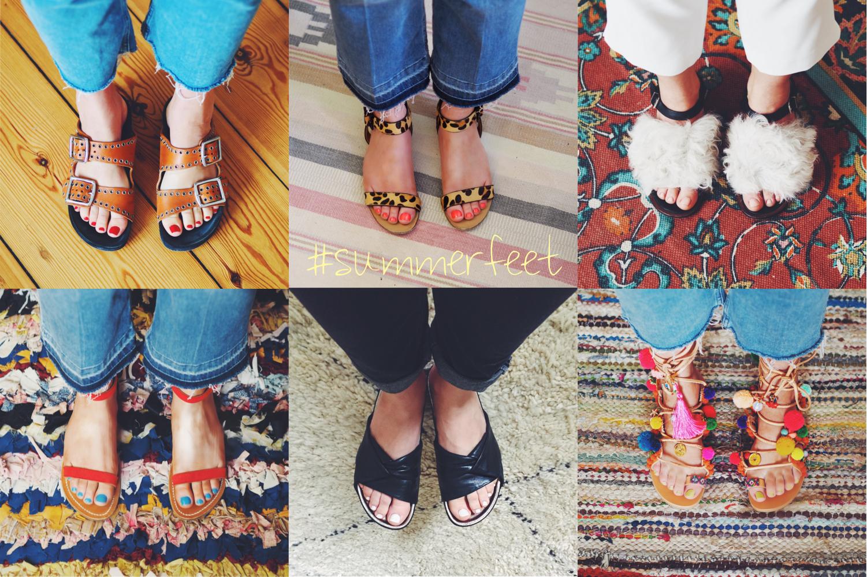 Beauty Viewfromthetop Welcher Nagellack Passt Zu Welcher Sandale